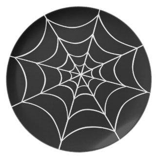 蜘蛛の巣 ディナープレート