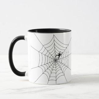 蜘蛛の巣 マグカップ