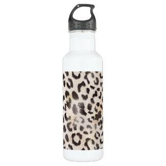 蜜柑のアイボリーのヒョウの皮 ウォーターボトル