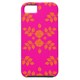 蜜柑のタンゴのばら色パターン iPhone SE/5/5s ケース