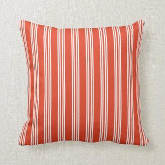 蜜柑のタンゴのチェルシーのストライプな枕 クッション