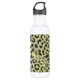 蜜柑のライムグリーンのヒョウの皮 ウォーターボトル