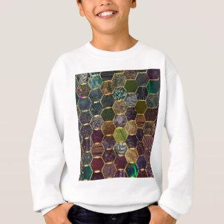 蜜蜂の巣の人魚のスケール スウェットシャツ