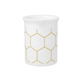 蜜蜂の巣はパターンデザインを簡単にしました ピッチャー