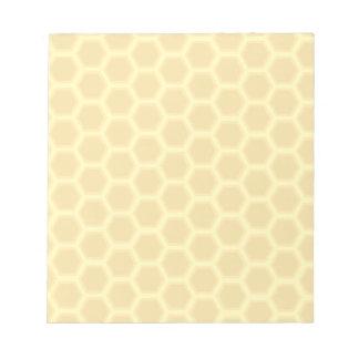 蜜蜂の巣パターン ノートパッド