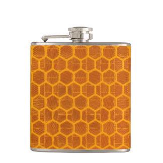 蜜蜂の巣パターン フラスク
