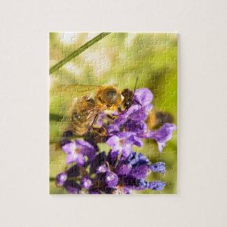 蜜蜂 ジグソーパズル