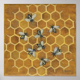 蜜蜂 ポスター