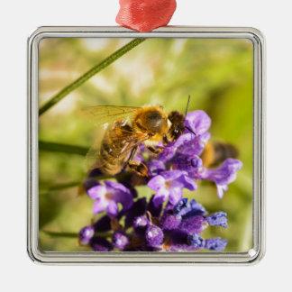 蜜蜂 メタルオーナメント