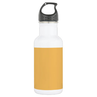 蜜蝋のオレンジ黄色のエレガントなファッション色 ウォーターボトル