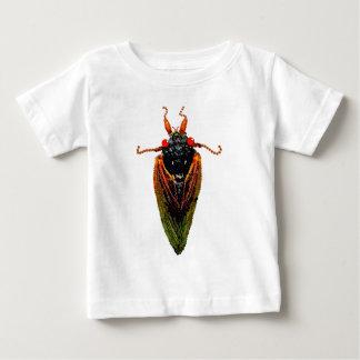 蝉 ベビーTシャツ