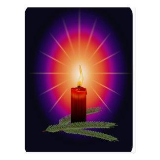 蝋燭のイメージ ポストカード