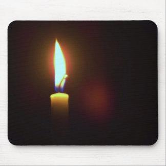 蝋燭のマウスパッド マウスパッド