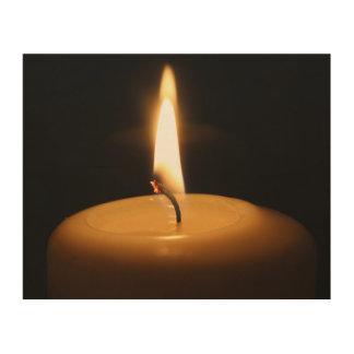 蝋燭の非常に熱い木製の芸術 ウッドウォールアート
