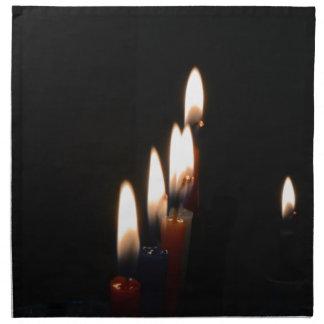 蝋燭ライト ナプキンクロス