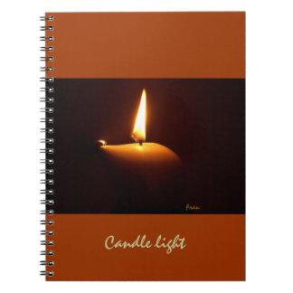蝋燭ライト ノートブック