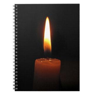 蝋燭炎 ノートブック