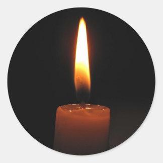 蝋燭炎 ラウンドシール