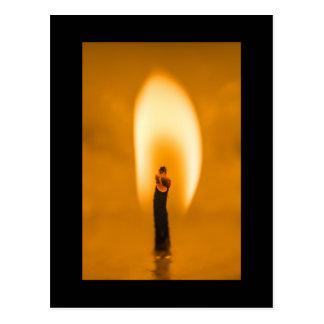 蝋燭1 ポストカード
