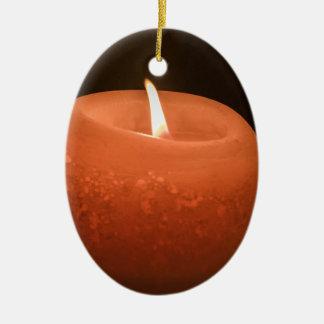 蝋燭 セラミックオーナメント