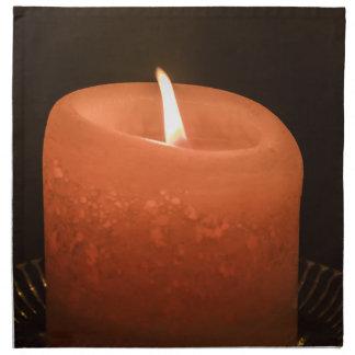 蝋燭 ナプキンクロス