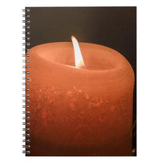 蝋燭 ノートブック