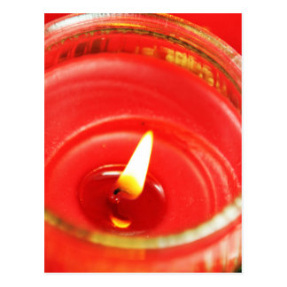 蝋燭 ポストカード