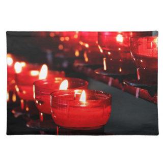 蝋燭 ランチョンマット
