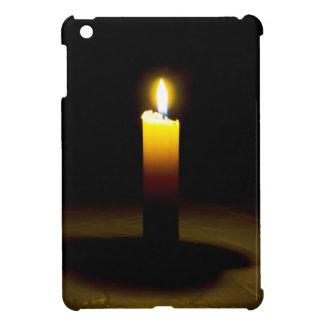 蝋燭、炎 iPad MINI CASE