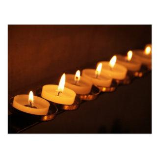 蝋燭 葉書き