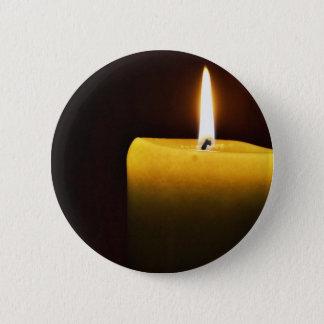 蝋燭 5.7CM 丸型バッジ