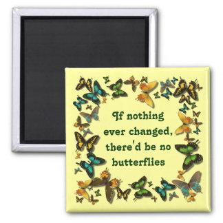 蝶および変更 マグネット