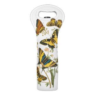 蝶および幼虫のカラフルな収集 ワイントート