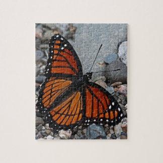 蝶および石 ジグソーパズル