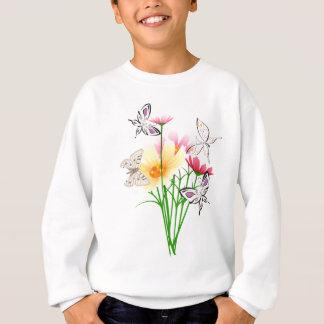 蝶および花の服装 スウェットシャツ