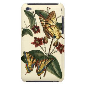 蝶および花の組み立てられた絵画 Case-Mate iPod TOUCH ケース
