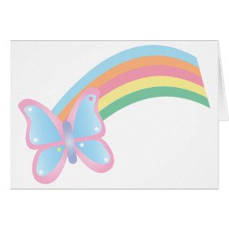 蝶および虹 カード