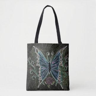 蝶くもの巣 トートバッグ