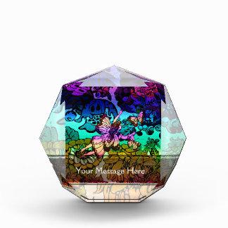 蝶との妖精のプリンセスの飛行 表彰盾
