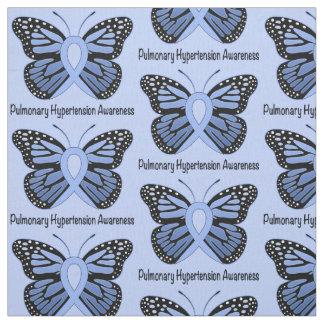 蝶との肺の高血圧の認識度 ファブリック