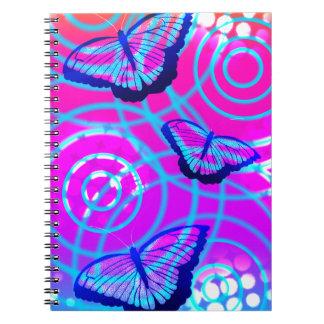 蝶なびき ノートブック
