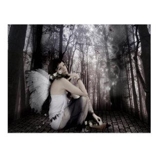 """""""蝶によって""""は郵便はがきが夢を見ます ポストカード"""