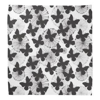 蝶のパターン バンダナ