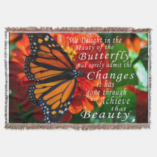 蝶のブランケットか美しい スローブランケット