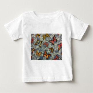 蝶の分野 ベビーTシャツ