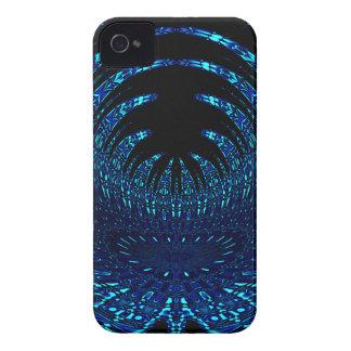 蝶は青に羽をつけます Case-Mate iPhone 4 ケース
