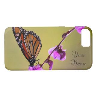 蝶はiPhone 7の場合に接吻します iPhone 8/7ケース