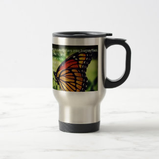 蝶への幼虫 トラベルマグ
