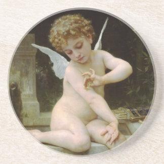 蝶を持つ天使 コースター