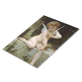 蝶を持つ天使 ノートパッド